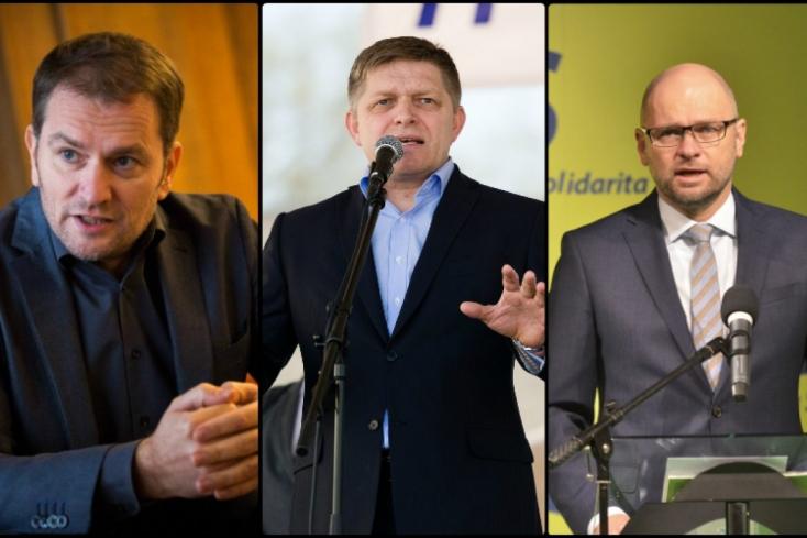 Ezért a ciki díjért most együtt küzd Fico, Matovič és Sulík!