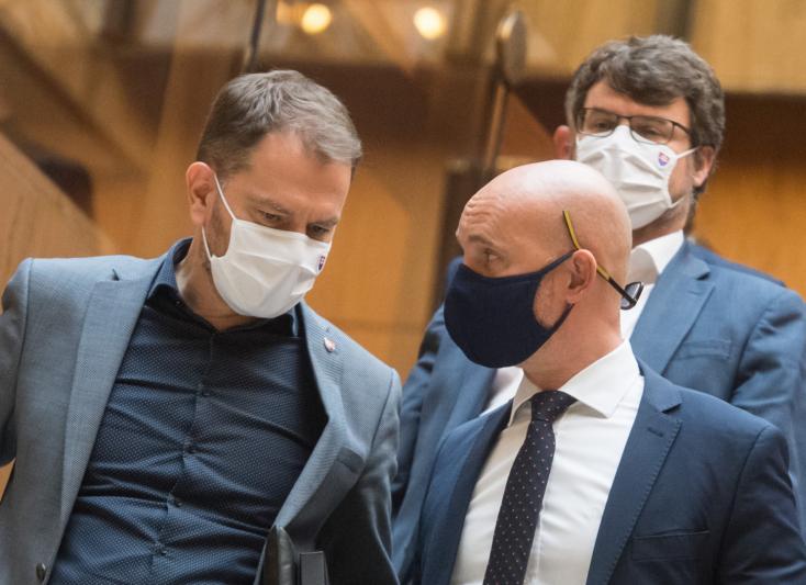 Matovič: Segítettem Gröhlingnek legyőzni a hivatalnokait