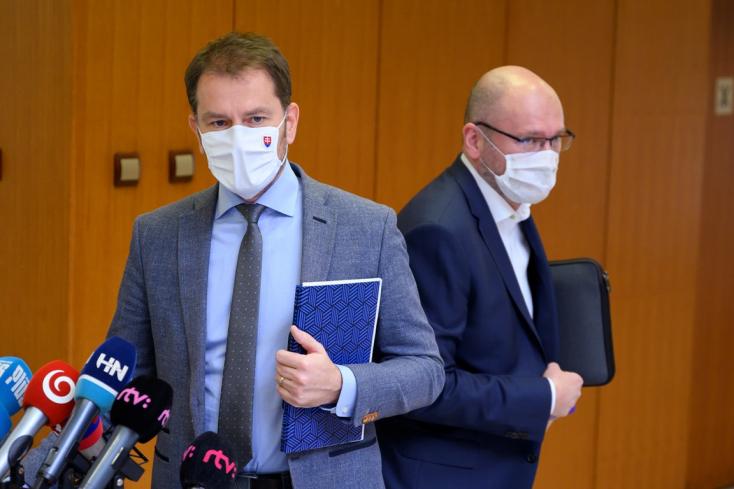 Sulík menti a menthetőt, maszkhordásra szólít fel, de azért Matovič megjegyzéseit sem hagyta szó nélkül