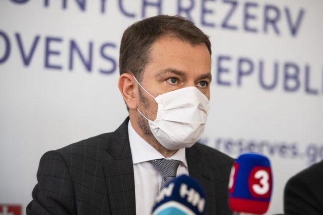 Nem szüntetjük meg idő előtt a veszélyhelyzetet - közölte Matovič