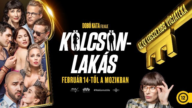 Dobó Kata Kölcsönlakás című filmjét csütörtöktől játsszák a magyarországi mozik