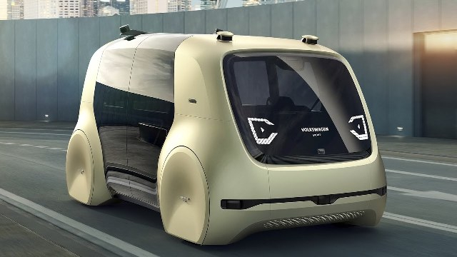 Önvezető autókat tesztel Hamburgban a Volkswagen