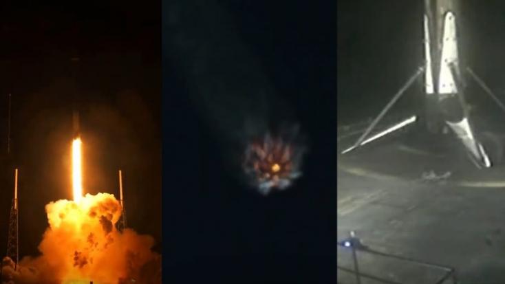 """A tervezett """"űrinternet"""" újabb 60 műholdját bocsátotta fel a SpaceX"""