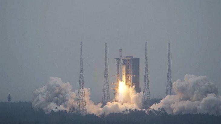 Felbocsátották első útjára Kína legújabb rakétáját
