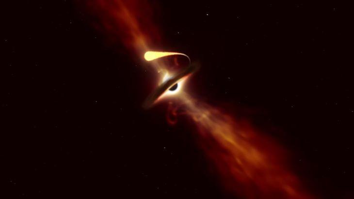 """Egy csillag """"spagettifikációját"""" sikerült rögzíteniük csillagászoknak"""