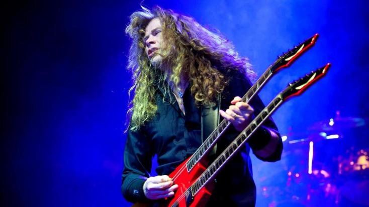 Torokrákos a Megadeth énekes-gitárosa