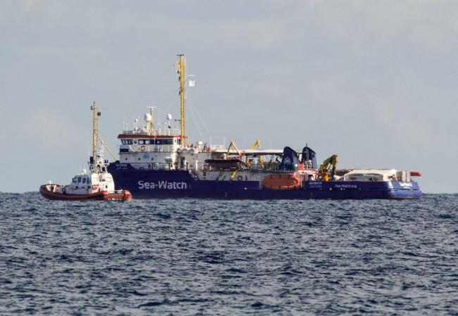 Az olasz hatóságok elengedték a Sea-Watch 3 nevű mentőhajót