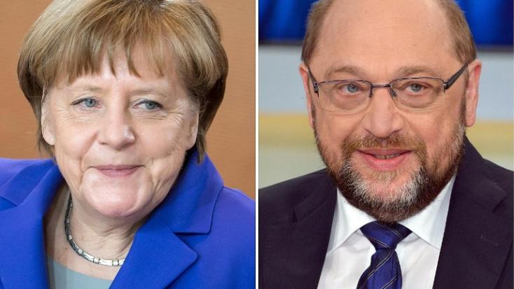 Angela Merkel nem akar még egyszer Martin Schulz-cal vitatkozni