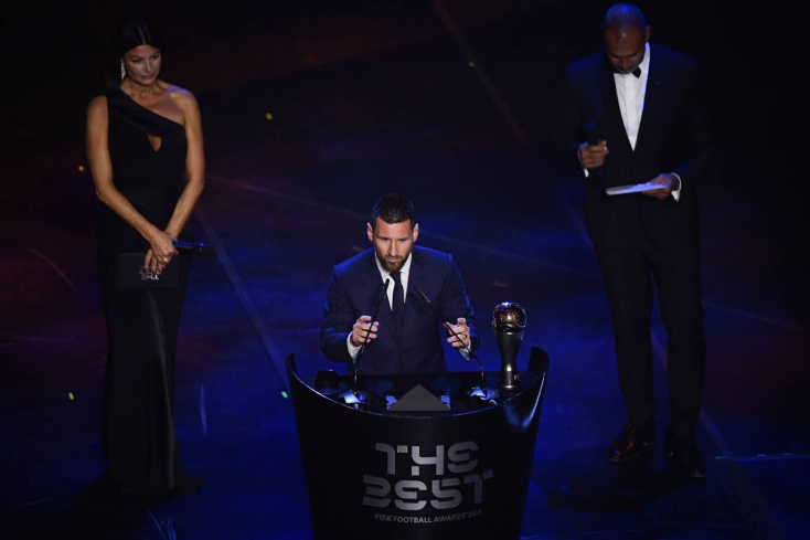FIFA-gála: Lionel Messi az év játékosa