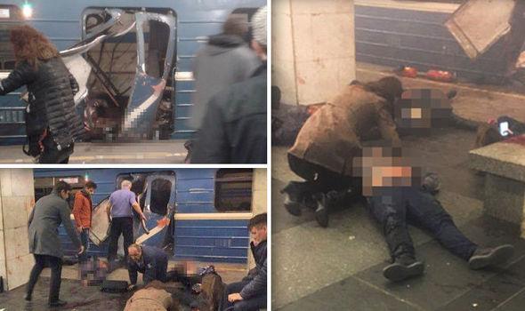 10 halottja és sok sérültje van a szentpétervári metróban történt robbantásnak!