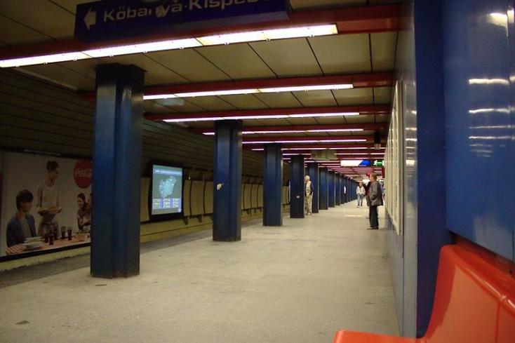 Halálos metrógázolás történt Budapesten