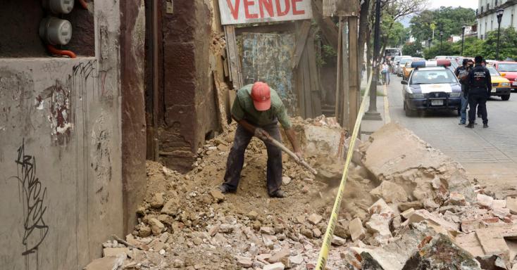 Nagy erejű földrengés rázta meg Mexikót, öten meghaltak, károk keletkeztek a fővárosban is