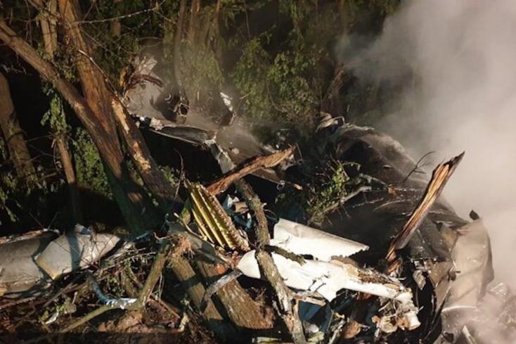 Überciki: azért zuhant le a szlovák vadászgép, mert alig lötyögött benne üzemanyag