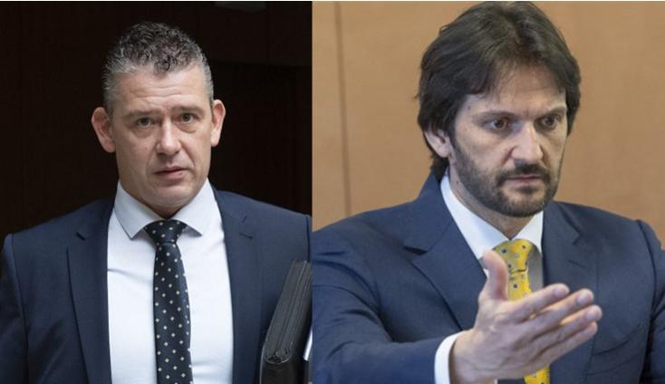 Egymást ekézi az egykori és a jelenlegi belügyminiszter a tárcától kirúgott krimiszerző miatt