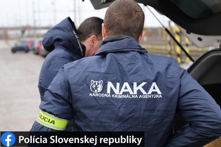 Rendőrségi akció: Kočnerrel kapcsolatba lépő bírókat vett őrizetbe a NAKA
