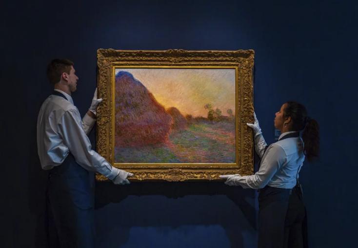 Több mint 100 millió dollárért kelt el egy Monet-festmény