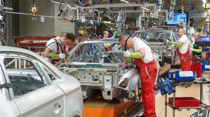 Pozitív lett a koronavírustesztje a győri Audi egyikalkalmazottjának