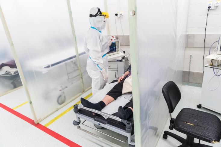 Koronavírus:94-en meghaltak az elmúlt egy napban, 1548 új fertőzöttet találtakMagyarországon
