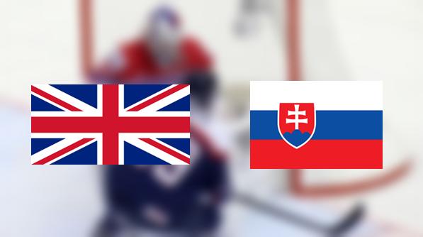 Hoki-vb: Nagy-Britannia - Szlovákia 1:7 (Online)
