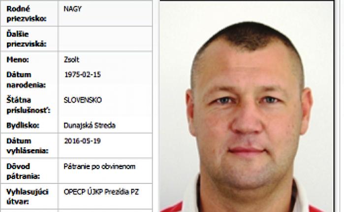 Rendőrkézre került Nagy Zsolt alias Csonti, egy erdőben fogták el Csallóközkürt és Felsővámos között!