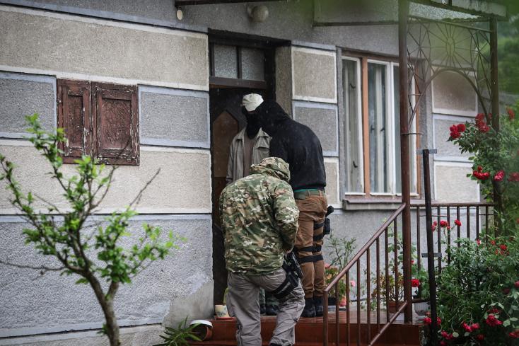 Kommandósok a Dunaszerdahelyi járásban - Több helyen is akciózik a NAKA!