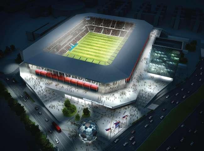 Kmotrík mondja meg, ki építi a Slovan-stadiont, de mi fizetjük