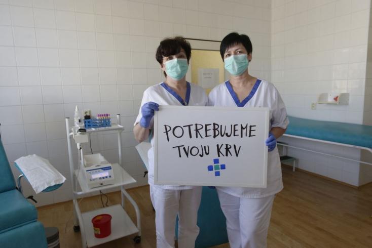 A dunaszerdahelyi kórház is kéri az embereket: adjanak vért! (VIDEÓ)