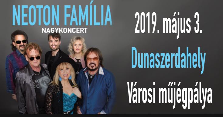 Neoton Família nagykoncert Dunaszerdahelyen!