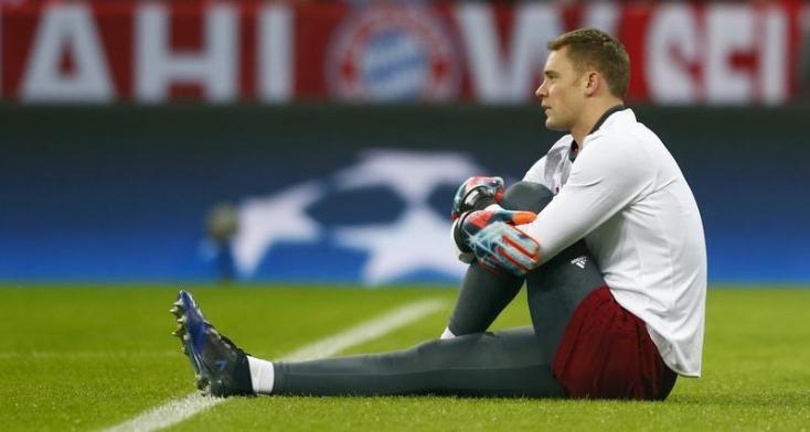 Bundesliga - Neuer izomsérülés miatt két hétig biztosan nem védhet