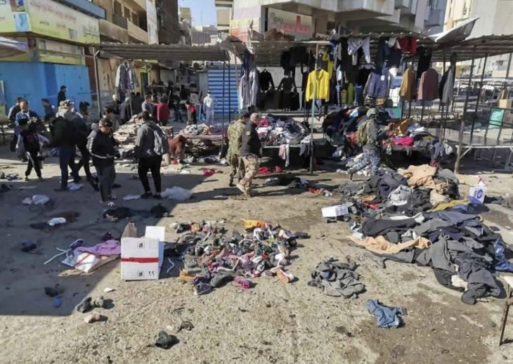 Öngyilkos merényleteket követtek el Bagdadban, halottak is vannak