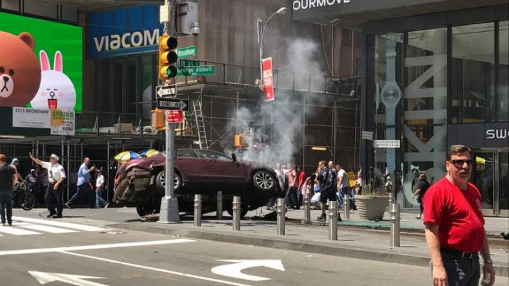 Hangokat hallott a New York-i gázoló