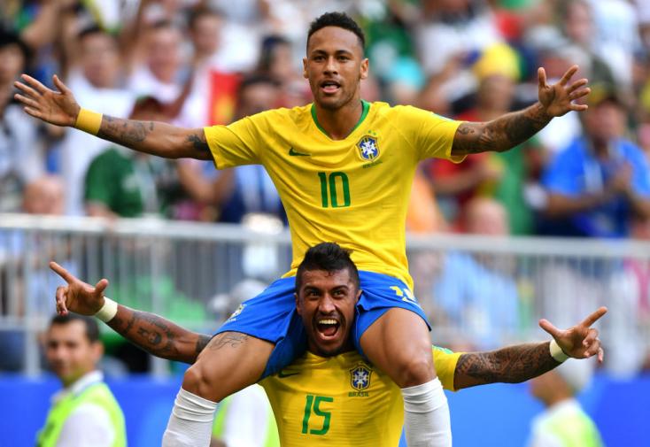 Brazília magabiztos győzelemmel jutott a negyeddöntőbe