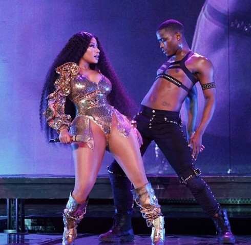 Nicki Minaj pozsonyozott egyetBordeaux-ban is