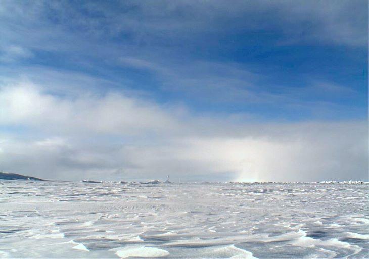 Először keletkezett ózonlyuk az Északi-sark felett