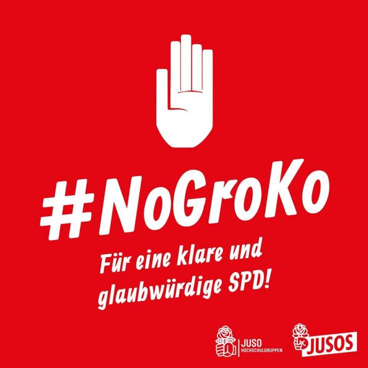 """""""Nem"""" a kormányalakításra! Ezért akcióznak a fiatal német szocdemek"""