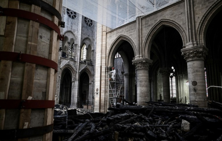 A hatóságok szerint sürgősen meg kell akadályozni a Notre-Dame összeomlását