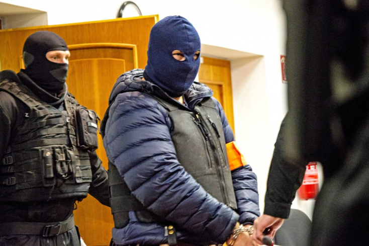 Miért viselt maszkot a bíróságon a Kuciak-gyilkosság gyanúsítottja?