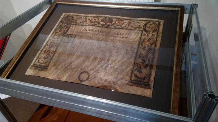 Helyreállították a lévai zsinagóga falában talált ritka dokumentumot