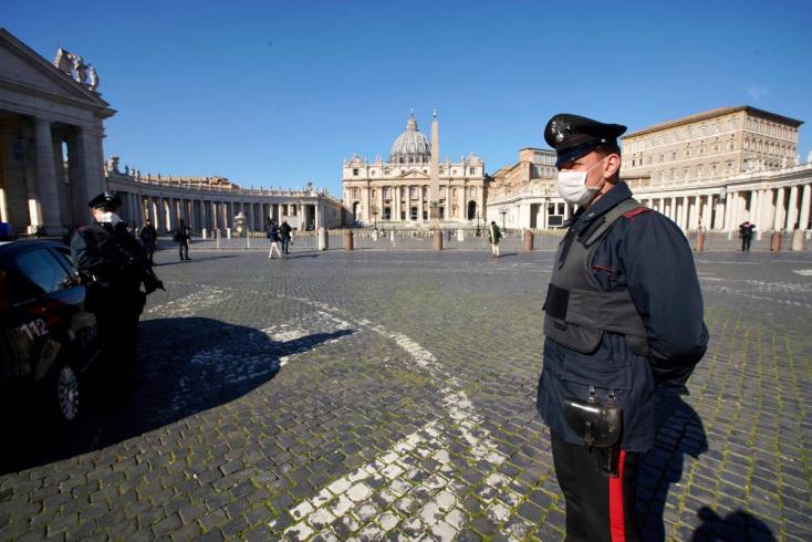 Tizenhétezer fölött a halottak száma Olaszországban, de az országban van egy nagyon pozitív hír is