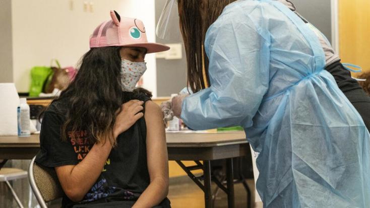 Mutatjuk, eddig hány 12 és 14 év közötti gyereket oltottak be koronavírus ellen