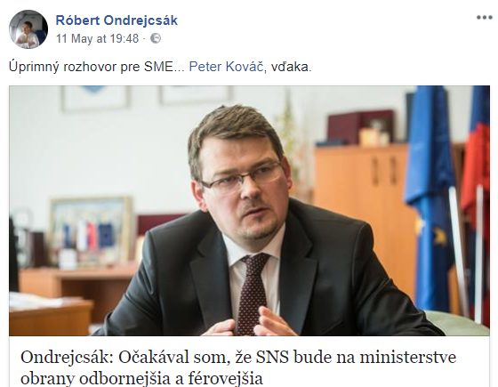Ondrejcsák marad, az SNS-es alelnök meg tovább dilizhet kifulladásig
