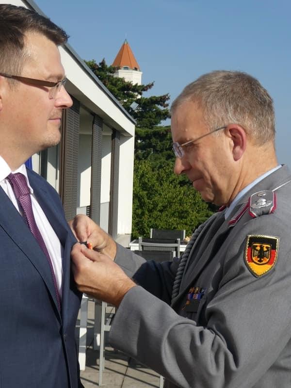 Ondrejcsák Róbert magas német állami kitüntetést kapott