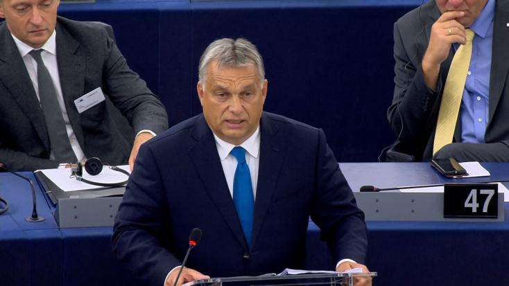 """Sargentini-jelentés: Orbánt figyelmeztették, hogy Magyarország """"sokkal több"""" nála"""