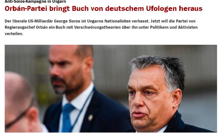 """Orbánék már ott tartanak, hogy ufó-hívő """"művével"""" házalnak"""