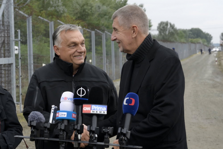 Orbán Viktor ötleteivel nyerne választást Csehországban Andrej Babiš