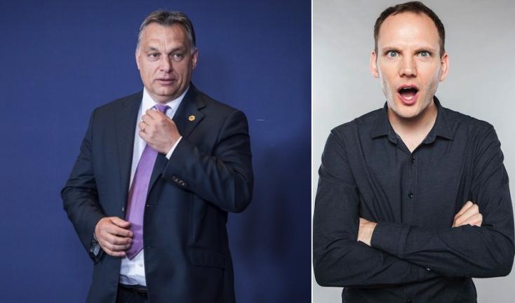 Bödőcs töcskölős Orbán-paródiája miatt bűnhődik a Pátria Rádió