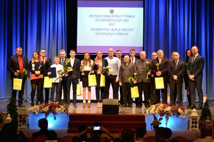 Birkózók, karatékák, úszók, sakkozók és atléták az év sportolói Dunaszerdahelyen