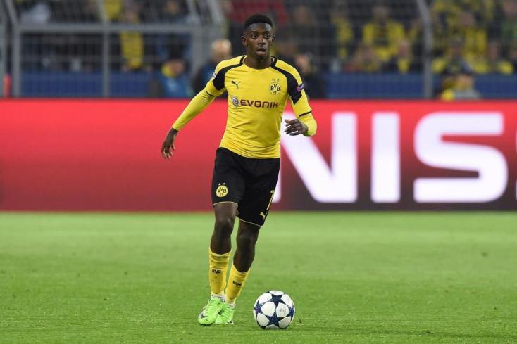 Nem jelent meg a Dortmund edzésén a Barcának 100 milliót érő fiatal csatár