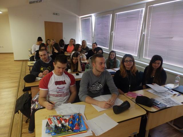 Aktív angol hét a dunaszerdahelyi szakközépiskolában