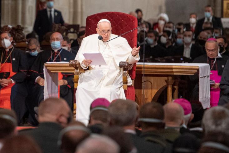 Ferenc pápa elmondta, milyen küldetése van Szlovákiának